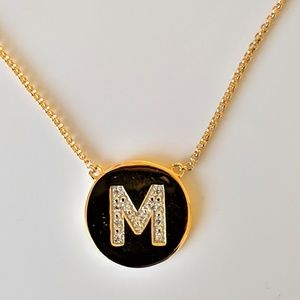 Jewelry - Diamond Initial Necklace NEW